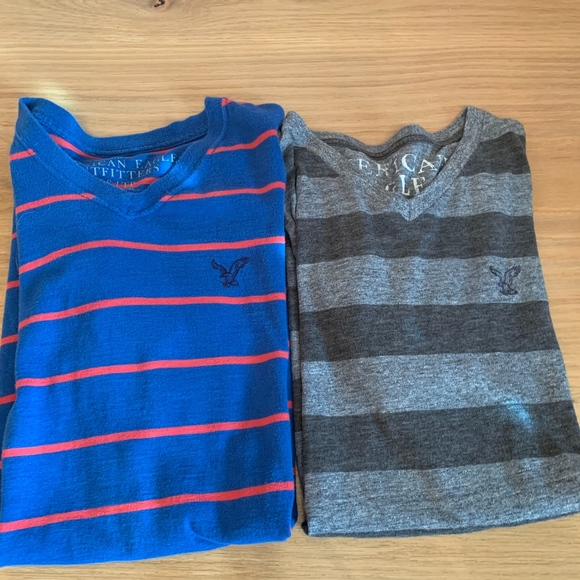 American Eagle Outfitters Other - American Eagle men's v neck short sleeve t shirts